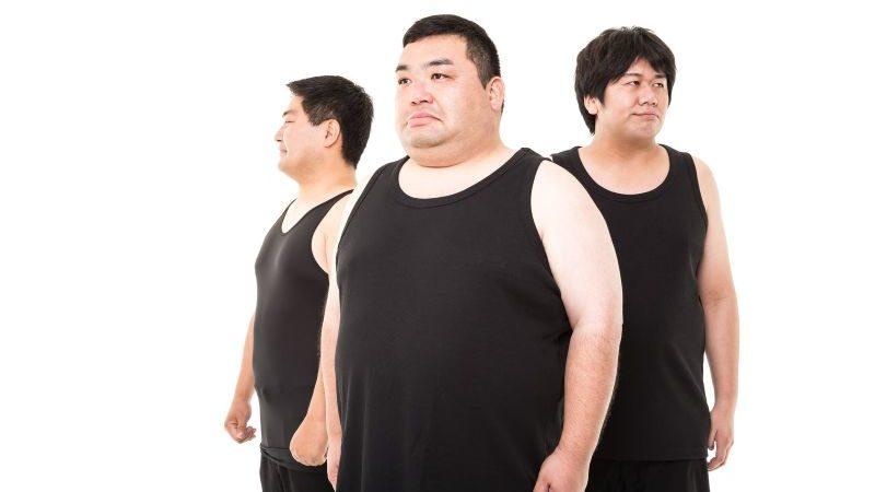 太めの男性