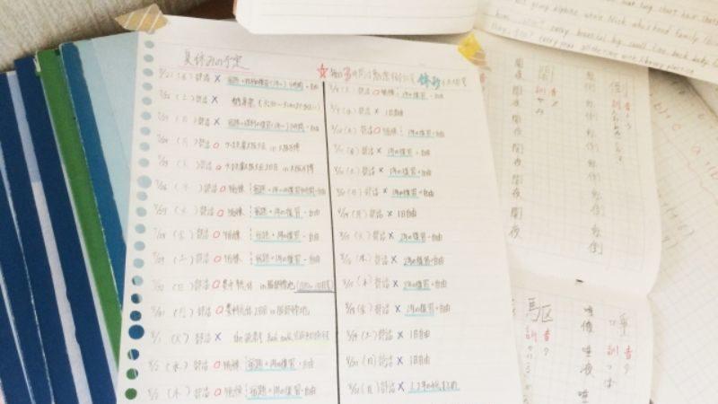 勉強のノート