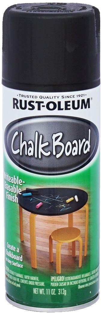 ラスト・オリウム チョークボード スプレー 黒板塗料 ブラック