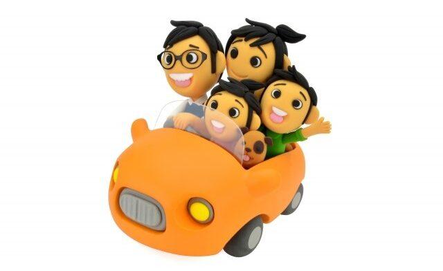 家族ドライブ